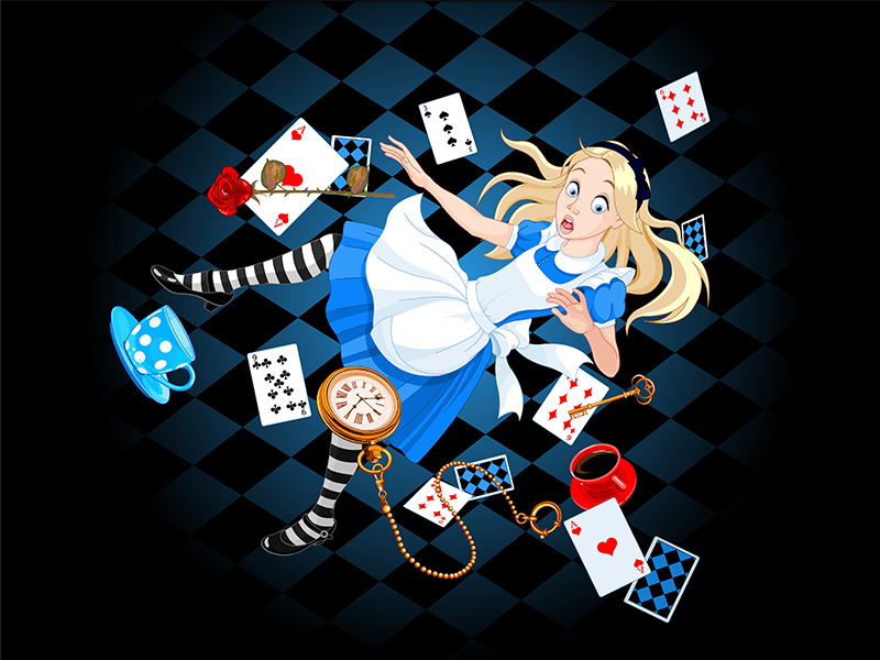 Alice in Wonderland - Choose Your Own Adventure Escape Game