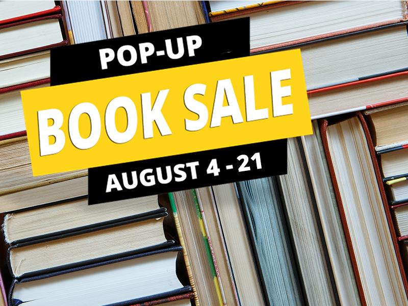 Pop-Up Book Sale