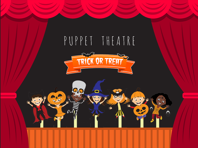 """Trick or Treat"" Virtual Puppet Show"