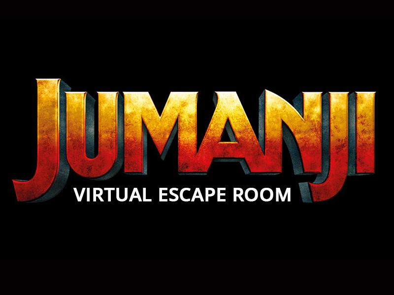 Jumanji Virtual Escape Room