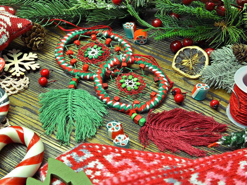 Macramé Ornaments Virtual Craft