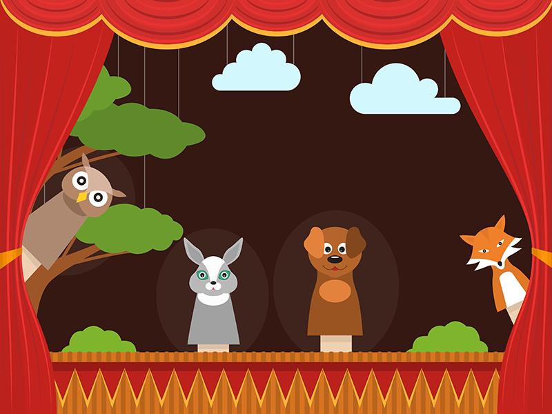 """A Swamp Pop Adventure"" Virtual Puppet Show"