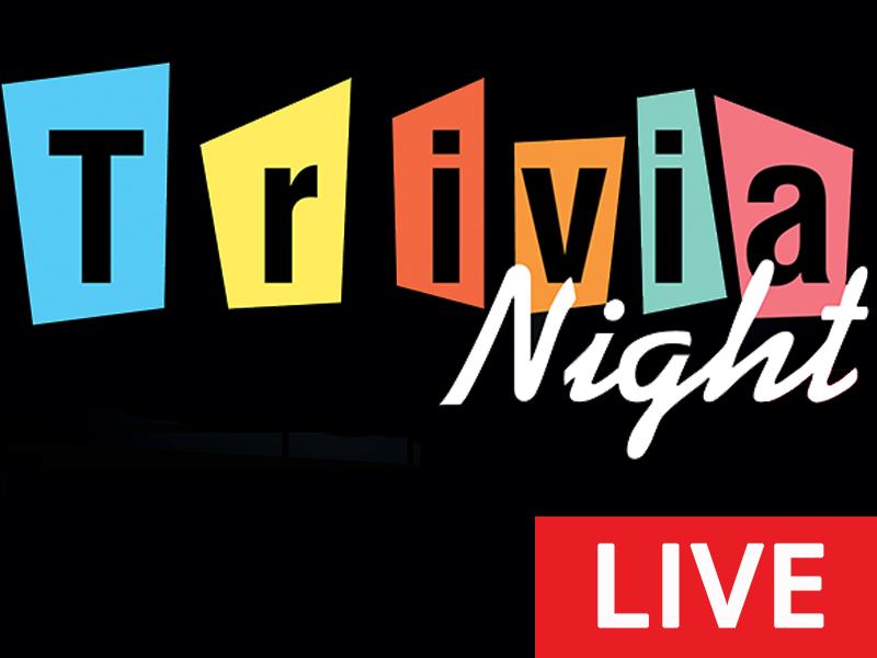 Trivia Night LIVE! on Zoom