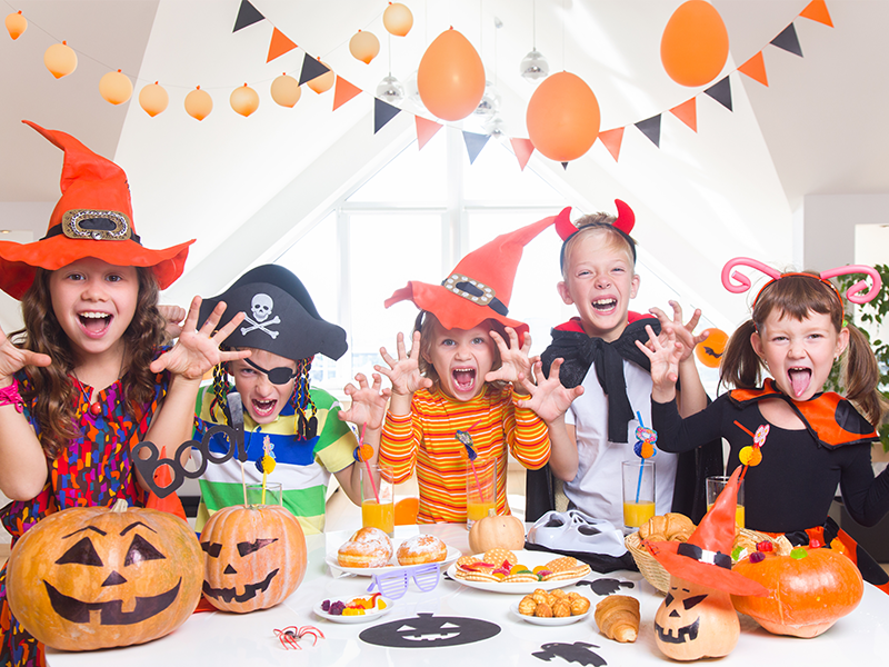"""A Very """"Scarry"""" Halloween Party"""